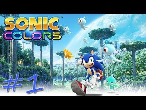 Прохождение Sonic Colors (Wii) #1 - Tropical Resort
