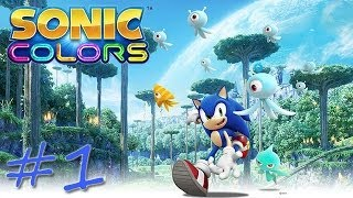 Прохождение Sonic Colors (Wii) #1 - Tropical Resort