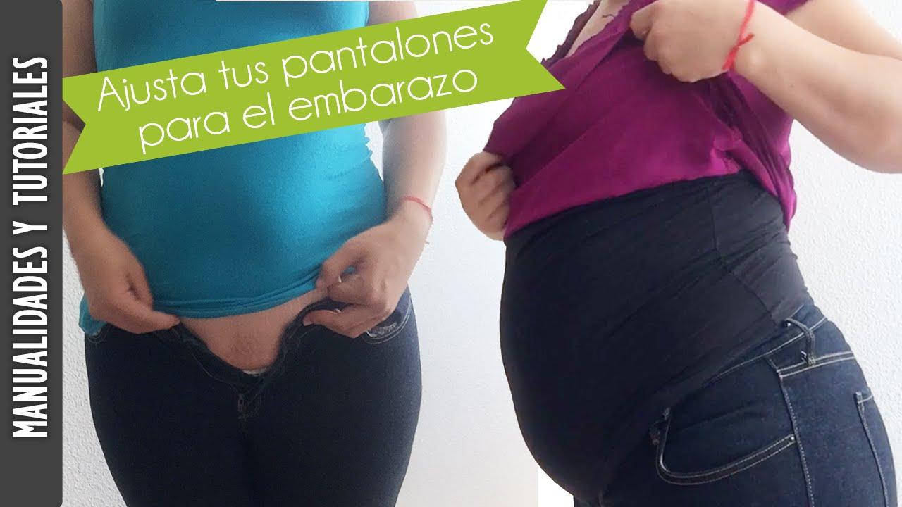 957fb09c2 Tutorial  Pantalones para embarazo