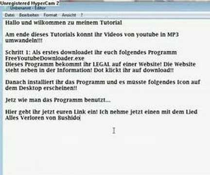 Youtube MP3 download Anleitung (deutsch)