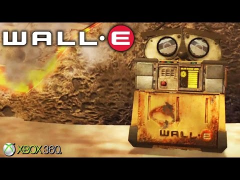 WALL-E - Xbox 360 / Ps3 Gameplay (2008)