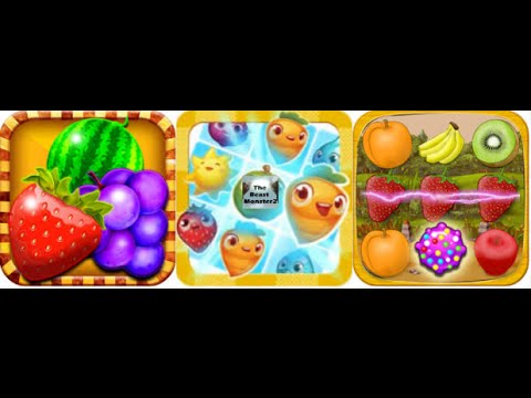 Fruit Crush Saga- levels 1-5 walkthrough