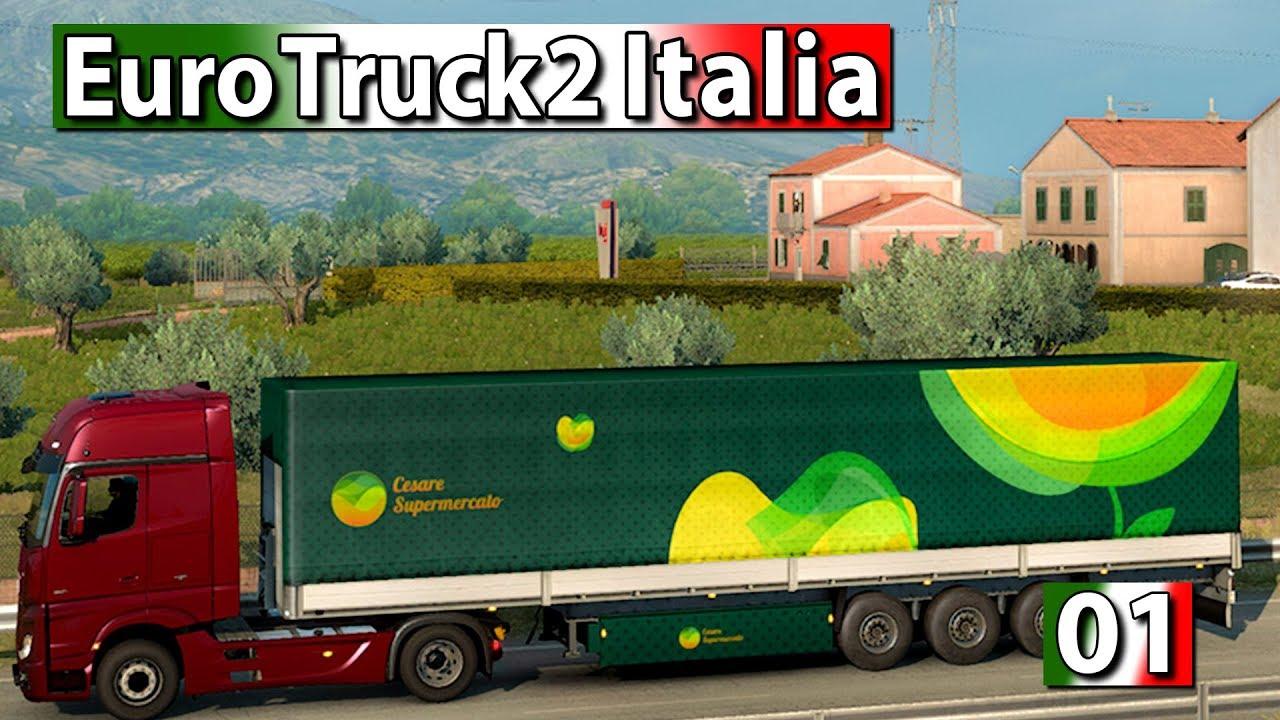 Download Game Euro Truck Simulator 2 Italia Full Version (CODEX)