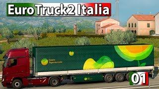 Euro Truck Simulator 2 Italia ► #1 ETS2 Italien DLC Gameplay deutsch german LKW Simulation