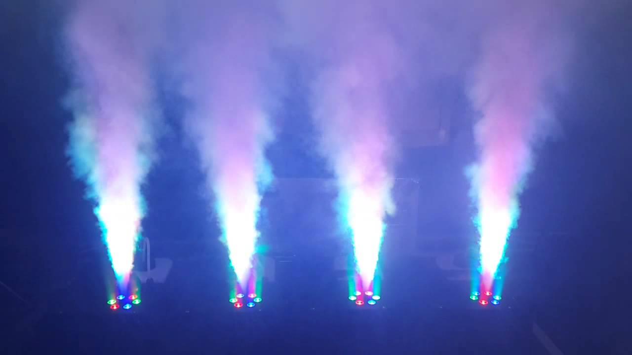 vertical fog machine