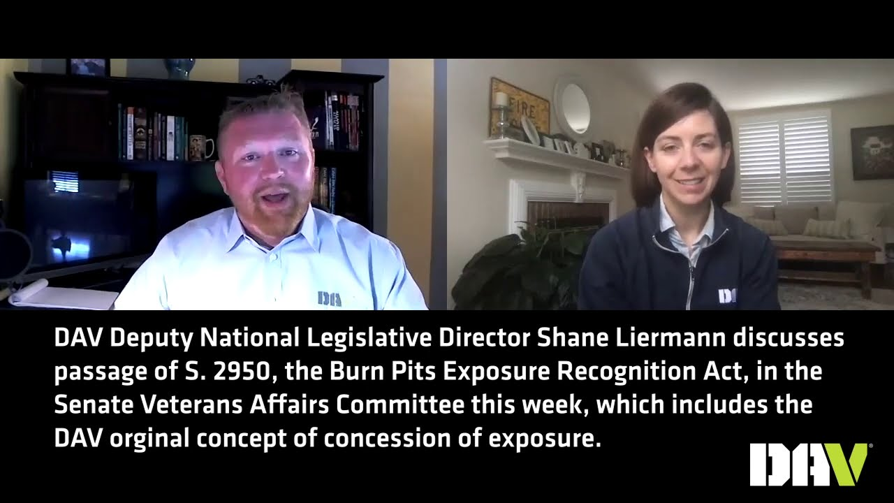 The Burn Pits Exposure Recognition Act (S. 2950) Passes Senate Veterans Affairs Committee