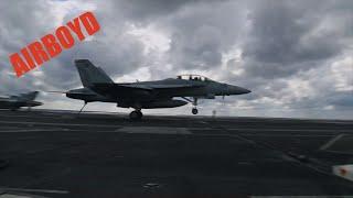 "VFA-106 F/A-18 ""Gladiators"" Qualify On USS Abraham Lincoln"