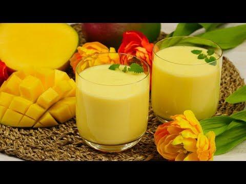 Mango Lassi | Indisches Getränk mit Mango & Joghurt