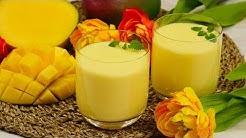 Mango Lassi   Indisches Getränk mit Mango & Joghurt