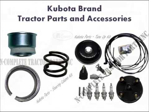 Tractor Parts Kubota At N Complete Parts Inc