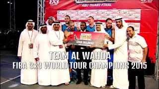 3x3 TEAM Al Wahda 2015 season recap