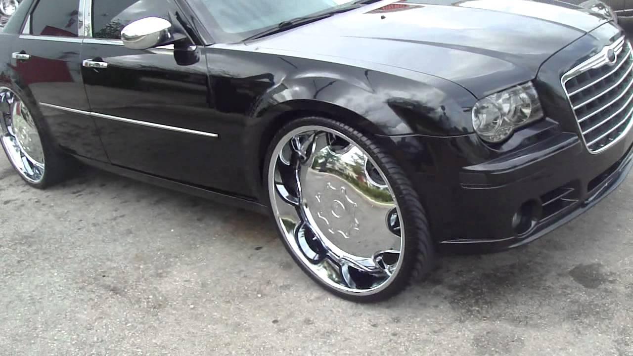 Chrysler 300 On 26 Quot Kurv Rims Footage Youtube