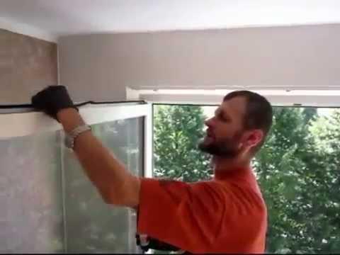 Замена уплотнителя ПВХ окна