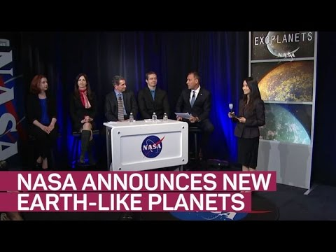 NASA reveals Trappist-1, a habitable star system