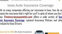 Iowa  Auto Insurance Company - Iowa Car Insurance Quotes