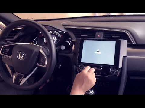 Honda Civic X IPad Dash Kit C