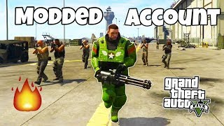 HOW TO GET A MODDED ACCOUNT FOR FREE!! - GTA 5 ONLINE PS4 ONLY