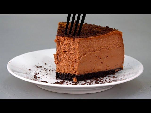 Муж просит готовить этот десерт ПОЧАЩЕ! Нереально вкусный чизкейк ДВОЙНОЙ ШОКОЛАД