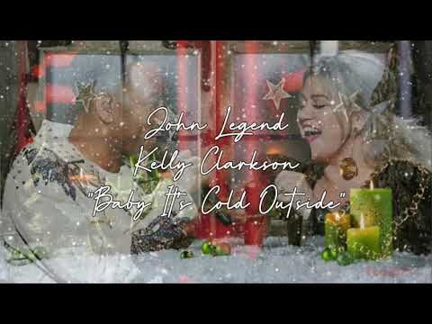 John Legend Baby Its Cold Outside Ft. Kelly Clarkson (Audio)