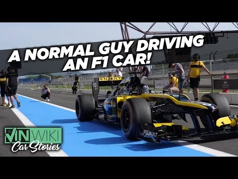 Can a regular person drive a real F1 car?