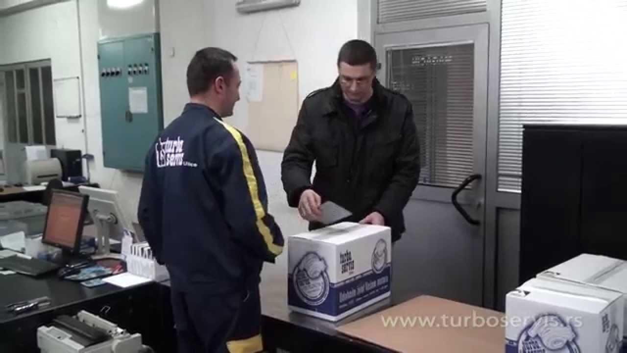 Ciscenje turbine bez skidanja