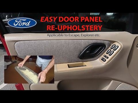 Ford Door Panel Re-Upholstery Suitable For Escape, Explorer Etc.