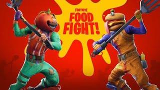 Fortnite | Food Fight LTM /DURR BURGER VS TOMATO HEAD / New Game mode