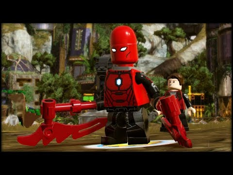 LEGO Marvel Superheroes 2 Creating Blitzbot & Blitzwinger! Customs!