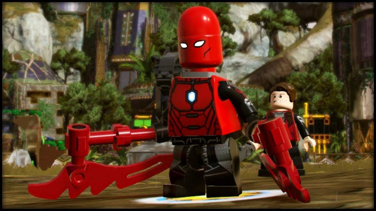 LEGO Marvel Superheroes 2 Creating Blitzbot & Blitzwinger ...