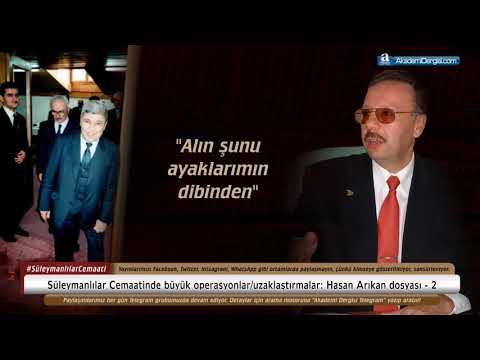 Hasan Arıkan Dosyası - 2   Süleymancılar Cemaatinde Büyük Operasyonlar/uzaklaştırmalar