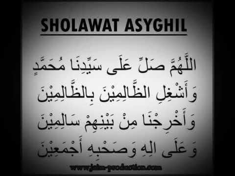 Sholawat Syekh Abdul Qodir Al Jaelani
