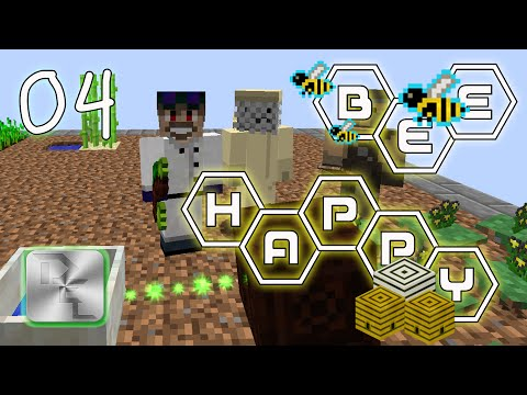 Minecraft Mod Pack Bee Happy - Episode 4 - Botania In Bee Happy - YT