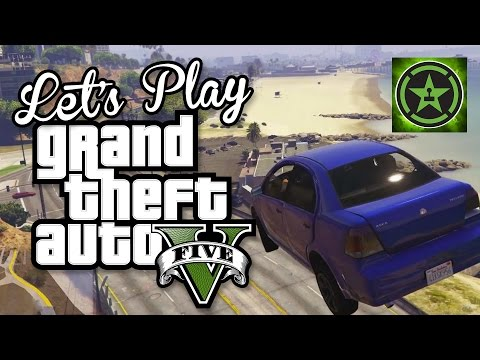 Let's Play – GTA V Heists – The Fleeca Job