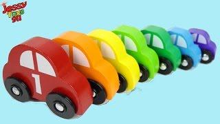 ألعاب سيارات أطفال الألوان بالعربي  Learn Arabic Colors with Cars