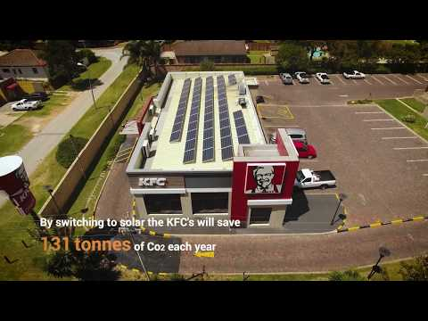 KFC Is Going Green With Solar Energy