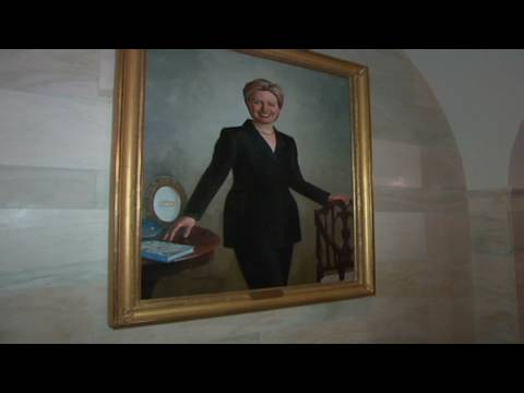 CNN: Tour of the White House art collection
