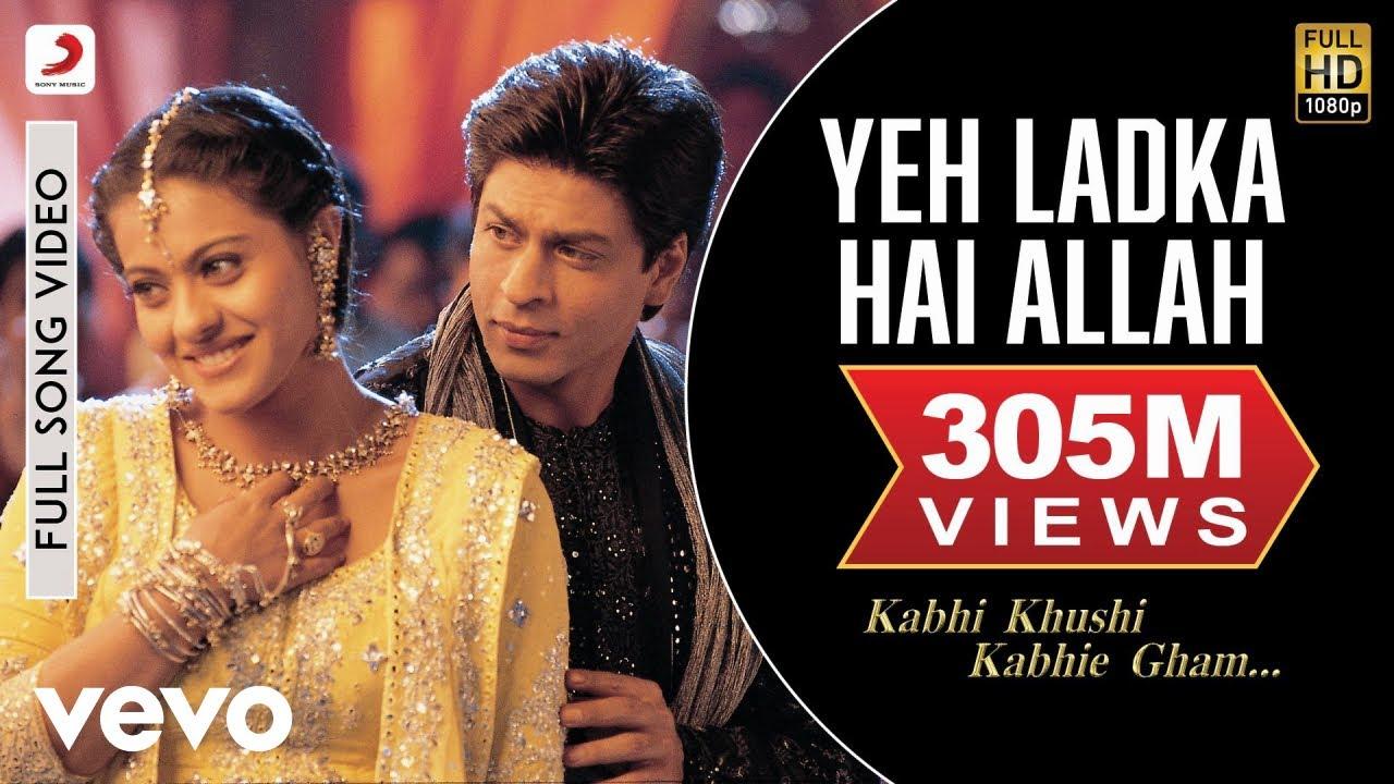 Download Yeh Ladka Hai Allah Full Video - K3G|Shah Rukh Khan|Kajol|Udit Narayan|Alka Yagnik