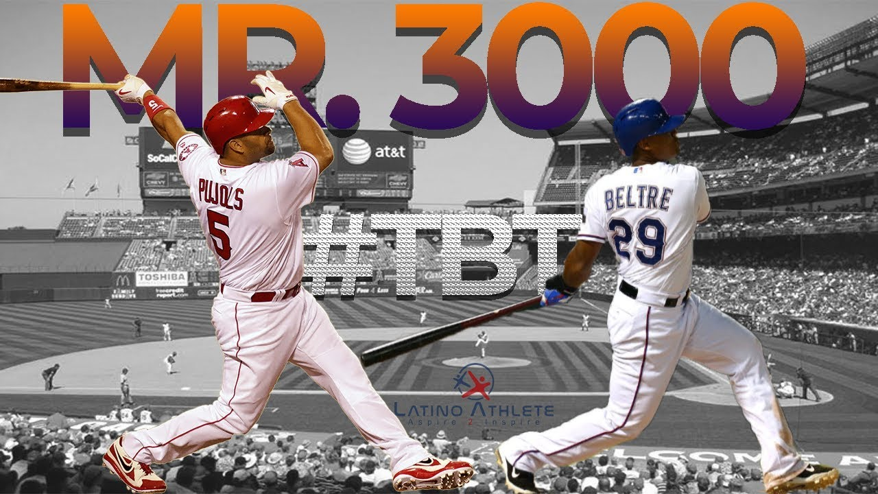 #TBT to Mr. 3000 Albert Pujols Adrian Beltre