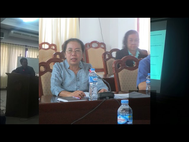 Lao CSOs Interactive learning and sharing session  by LIWG