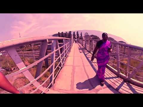 Heritage of Jolarpet old bridge in 360 view video