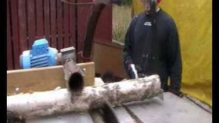 Repeat youtube video Vedmaskin - Firewood processor - Brennholz prozessor (hembygge)