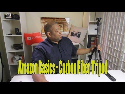 Amazon Basics Carbon Fiber Tripod