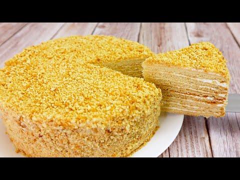Рецепт-Торта-Медовик-🍯