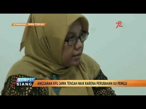 Anggaran KPU Jateng Naik Karena Perubahan UU Pemilu