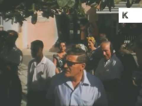 1950s, 1960s Driving Around Jamaica, Caribbean, Home Movies
