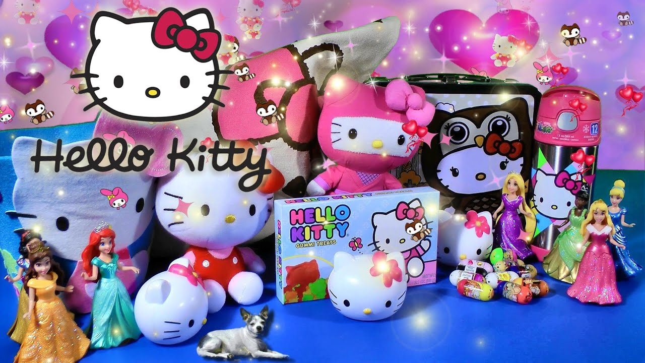 Toy Hello Kitty Watch : Hello kitty toys collection biggest surprise tote bag