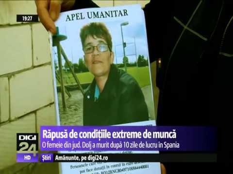 SCLAVII UE : O femeie din Dolj a murit în Spania, după o săptămână epuizantă la cules de căpșuni