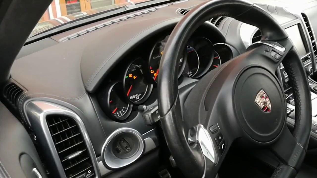 Porsche Cayenne 958 - remote start alarm system Pandora Light +