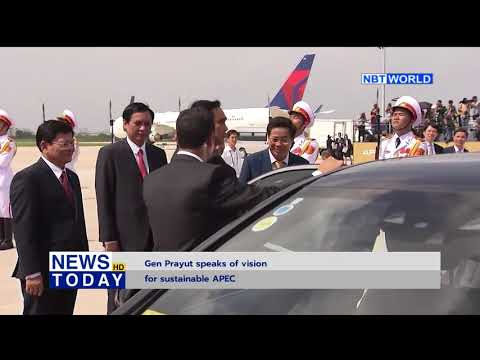 Gen Prayut speaks of vision for sustainable APEC
