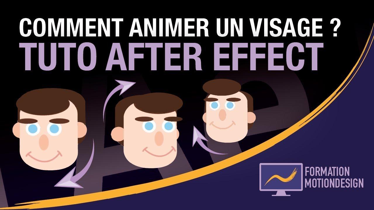 Animation d'un visage avec after effect ! - Tuto animation ...
